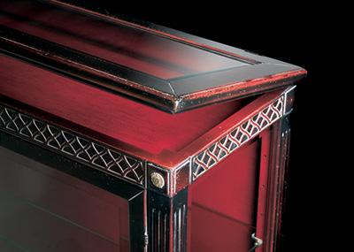 Rosso Cina Sfumato Nero